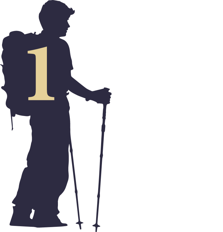 shoshone hiker icon